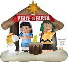 Inflatable Peanuts Nativity Scene Christmas Airblown Holiday Lawn Decor Outdoor
