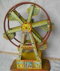 VINTAGE TIN LITHO CHEIN HERCULES FERRIS WHEEL WORKS