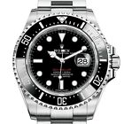 2017 Rolex DEEPSEA SeaDweller 43MM Black Dial RED Stainless Steel M126600-0001