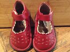 Itsy Bitsy girl toddler Red Mary Janes toddler size 3