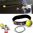 Fight Ball With Head Band For Reflex Speed Training Boxing Punch Exercise Fitnes