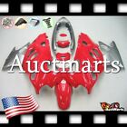 For Suzuki Katana GSX600F GSX750F 2003-2006 Fairing Bodywork Red Silver 2p2 ZA