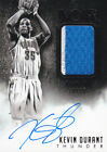 KEVIN DURANT 2014-15 PANINI NOIR GAME-USED PATCH AUTO AUTOGRAPH SP # 25 WARRIORS