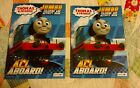 THOMAS THE TRAIN JUMBO COLORING ACTIVITY BOOKS LOT OF 2 WITH TEAR