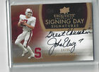 2011 Exquisite John Elway Inscription