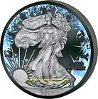 AMERICAN EAGLE DEEEP FROZEN EDITION 1oz silver coin ruthenium plated USA 2017