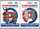 Front & Rear Brake Pads for CCM TL 125 08-09