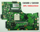 V000225010 AMD Motherboard for Toshiba Satellite C650D C655Dfree CPU Grade A