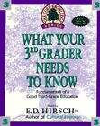 What Your 3rd Grader Needs to Know Fundamentals of a Good Third Grade Education
