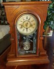 Antique Waterbury gingerbread kitchen parlor clock Small cute
