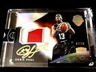 2014-15 Panini Eminence Basketball Chris Paul Auto Patch USA 7 10