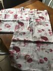 WAVERLY GARDEN ROOM NORFOLK ROSE TAB TOP CURTAIN PANELS PAIR SET