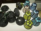 Vintage Noma Patio Party Lantern String Lights RV Camping Colored Retro