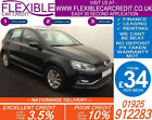 2014 VW POLO 10 SE GOOD BAD CREDIT CAR FINANCE FROM 34 P WK