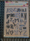 NEW Prima Clear Stamps LARGE 1 3 Uppercase Alphabets Timbres Transparents