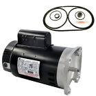 Pentair Challenger 1HP CFII NI 1F Motor Kit AO Smith B2848 w GO KIT 5