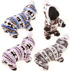 US Stock Pet Clothes Dog Pajama Cute Soft Cotton Puppy Teddy Cat Sleepwear Coat