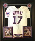 KRIS BRYANT CHICAGO CUBS AUTO SIGNED CUSTOM FRAMED JERSEY FANATICS AUTHENTIC