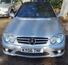 06 MERCEDES CLK55 AMG 54 V8 CABRIOLET FULL LEATHERCOLOUR SAT NAVCLIMATE XEN