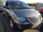 06 CHRYSLER GRAND VOYAGER 28 CRD LIMITED XS STOW N GO 7 SEATS E DOORS SAT NAV