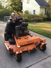 52 Scag V Ride zero turn commercial stander stand on zero turn lawn mower ZTR