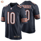 Authentic Nike NFL 2017 Mitchell Trubisky #10 Chicago Bears Nike Game Jersey NWT