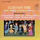 PAUL LAVALLE/PAUL LAVALLE & THE BAND OF AMERICA - CURTAIN TIME NEW CD