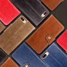 Fashion Stand Card Slot Strap Wallet PU Leather Soft Skin Slim Flip Case Cover