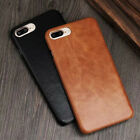 Retro Genuine Leather Slim Shockproof Case Cover For iPhone Xs Max XR 6 7 8 Plus