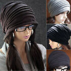 US Women Mens Warm Winter Baggy Beanie Knit Crochet Ski Hat Oversized Slouch Cap