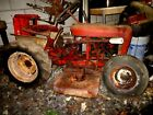 WHEEL HORSE RJ58 LAWN TRACTOR WITH MOWER DECK