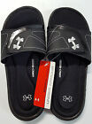 Under Armour Womens Ignite VII Slide Sandals Flip Flops Size 789 or 10 Black