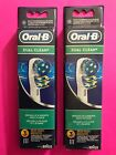 6 Oral B Dual Clean Replacement Toothbrush Heads  2 3 Pks  6 Same Day Ship