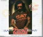 Zodiac Mindwarp And The Love Reaction Planet Girl CD Single 4 tracks RARE