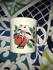 Homer Laughlin FIESTA WARE TWELVE DAYS OF CHRISTMAS Mug Two Turtle Doves