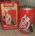 Coca-Cola Ceramic Cookie Jar Red Soda Can Collectible Tab Top 2001 Gibson