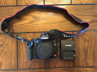 Canon EOS Rebel XSi 450D 122MP Digital SLR Camera Black Body Only