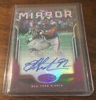 2017 Panini Certified Michael Strahan Mirror Signatures Auto 10 Giants