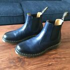 Dr Martens 2976 Navy Blue Smooth Leather Chelsea Boots Mens Size 11 US