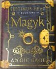 Angie Sage Magyk Signed Limited Edition 1st Edition 1st Print Like Harry Potter