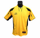 Youth Kelme Soccer Jersey Style Casual Shirts Gold Black Youth Size Large New