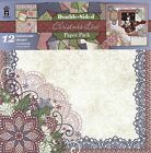 Christmas Lace Double Sided Paper Pack Hot Off The Press