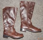 WOMANS SIZE 8 SODA BRAND TALL BROWN BOOTS EXCELLENT CONDITION