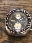 SEIKO YACHTSMAN STAINLESS STEEL WATCH CHRONOGRAPH 1970S UFO STYLE