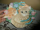 Fitz and floyd kitten kaboodle dimensional plate - Two kittens  - CUTE!