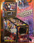 GUARDIANS OF THE GALAXY Premium Stern Pinball flyer