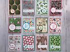12 Christmas Holiday Thank You notes Stampin Up + more greeting cards
