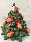 FITZ & FLOYD 12 Days Of Christmas PARTRIDGE IN A PEAR TREE Cookie Jar Lid Only