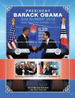 Micronesia President Barack Obama Visits South Korea Sheet of 2 stamps