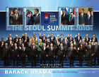 Micronesia President Barack Obama Visits South Korea Sheet of 4 Stamps